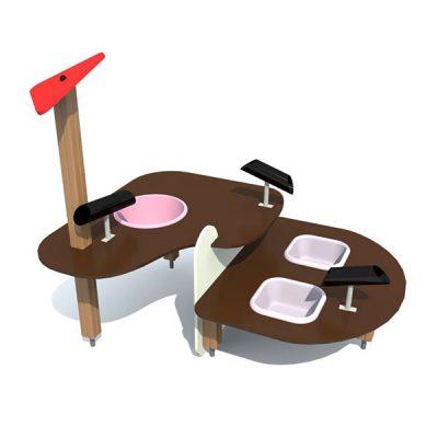 Cтол для игр с водой и песком 4446