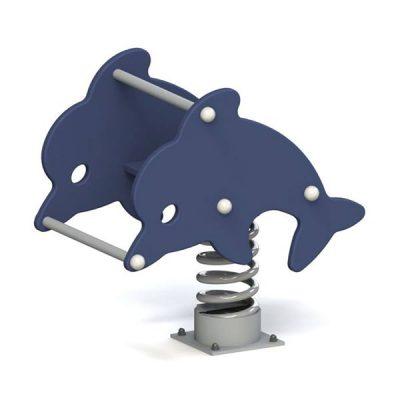 Качалка на пружине Дельфин 6104