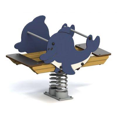Качели балансир 6119 Дельфин