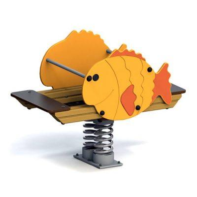 Качели балансир 6131 Рыбка
