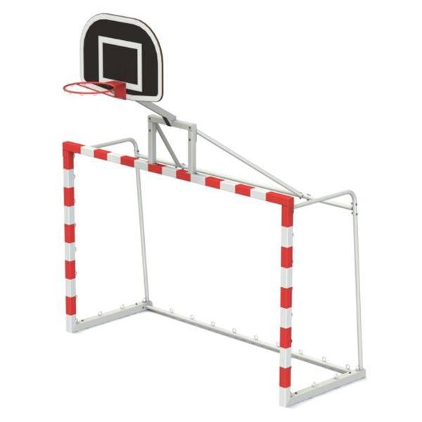 Спортивные ворота с баскетбольным кольцом 7908r