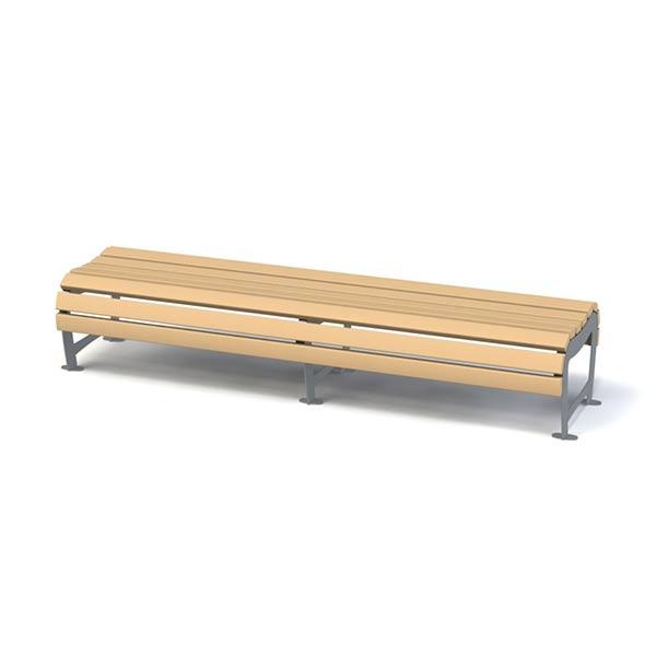 Скамейка без спинки 8042