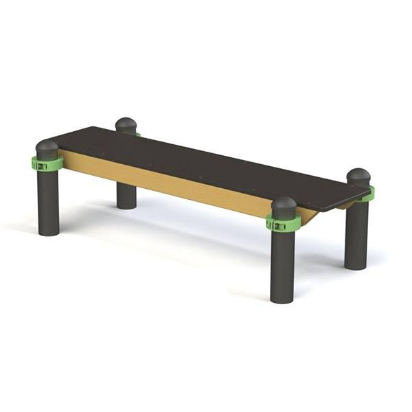 Скамейка для воркаута на улице W0047