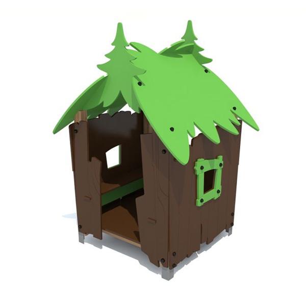 Детский игровой домик из дерева S5009