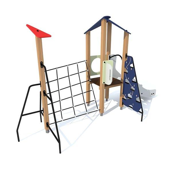 Детский игровой комплекс с горкой 4413