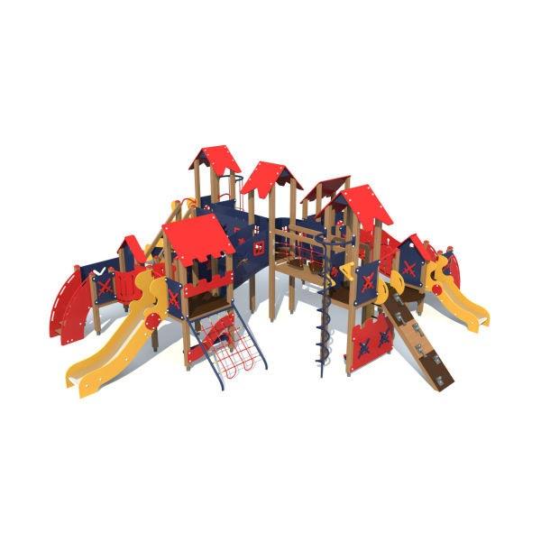 Детский игровой комплекс для улицы 3702