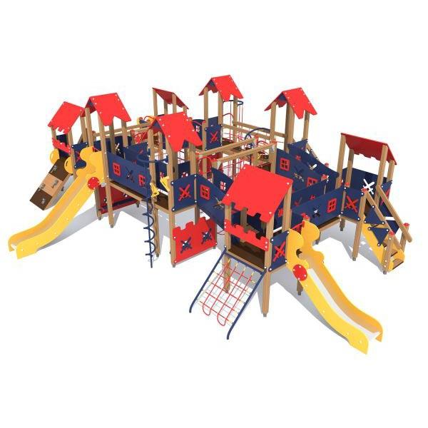 Детский игровой комплекс для улицы 3801