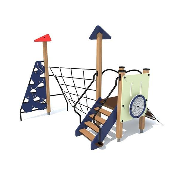 Детский игровой комплекс с сеткой 4424