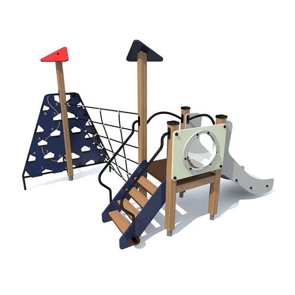 Детский игровой комплекс с горкой  4425