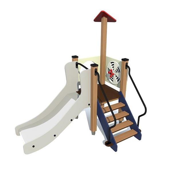 Детский игровой комплекс с горкой 4428