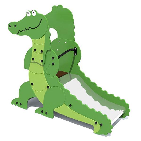 Детская горка для площадки 5219 Крокодил