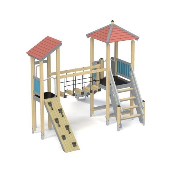 Детский игровой комплекс с горкой К1204