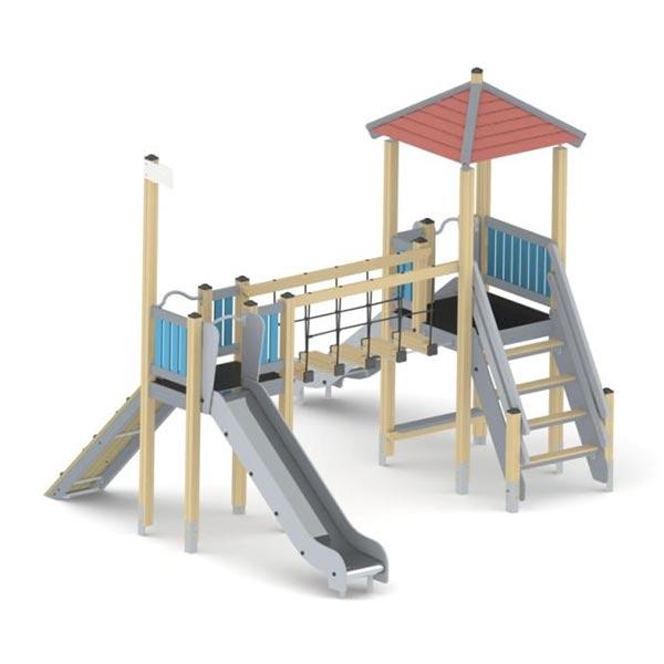 Детский игровой комплекс с горкой К1206