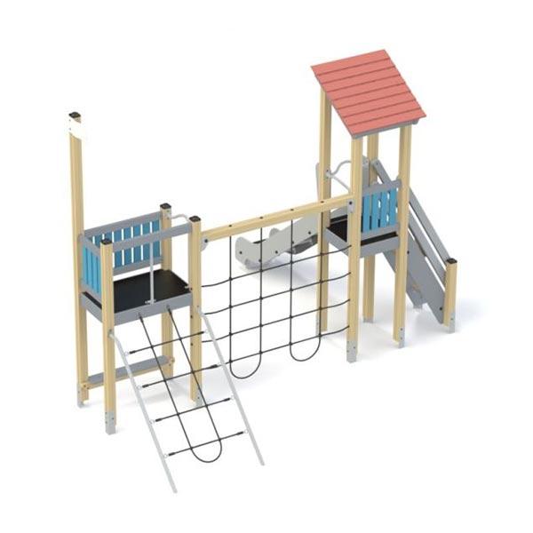 Детский игровой комплекс с горкой К1208