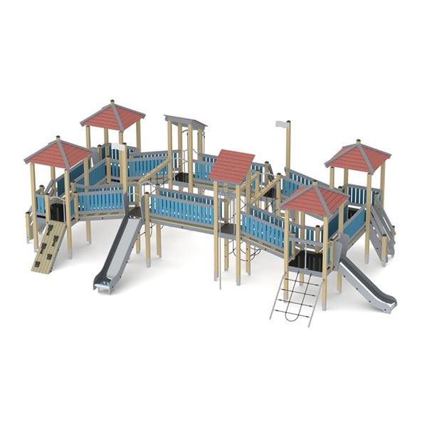 Большой детский игровой комплекс К2801