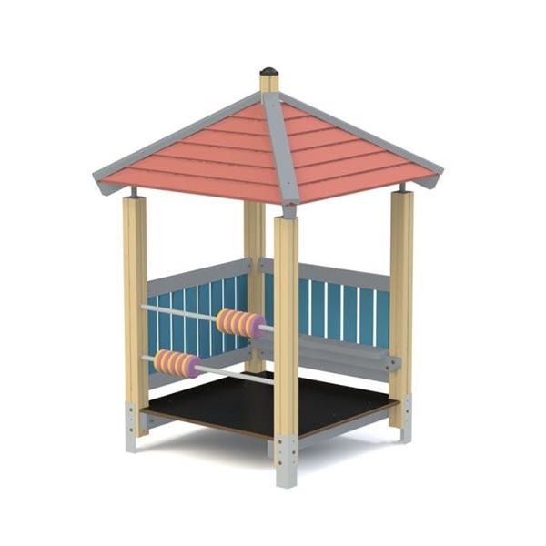Детский игровой домик из дерева К5008