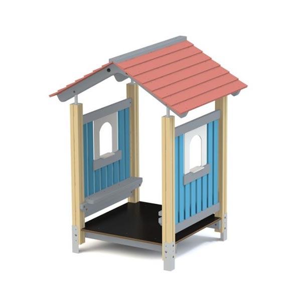 Детский игровой домик из дерева К5009