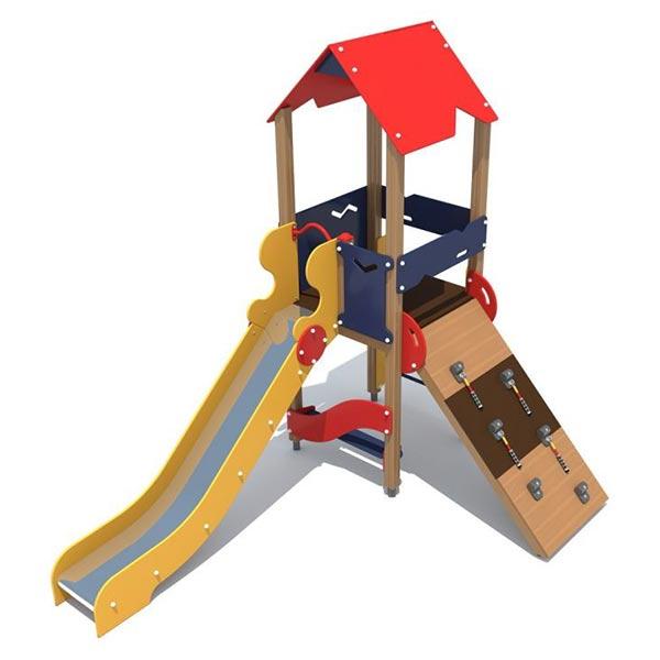 Детский игровой комплекс с горкой 1103