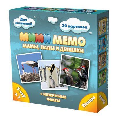 Игра Мими Мемо Птицы