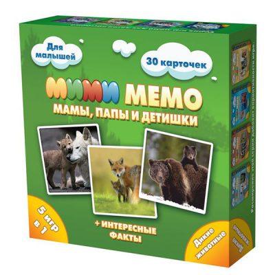 Игра Мими Мемо Дикие животные