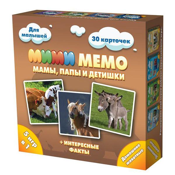 Игра Мими Мемо Домашние животные